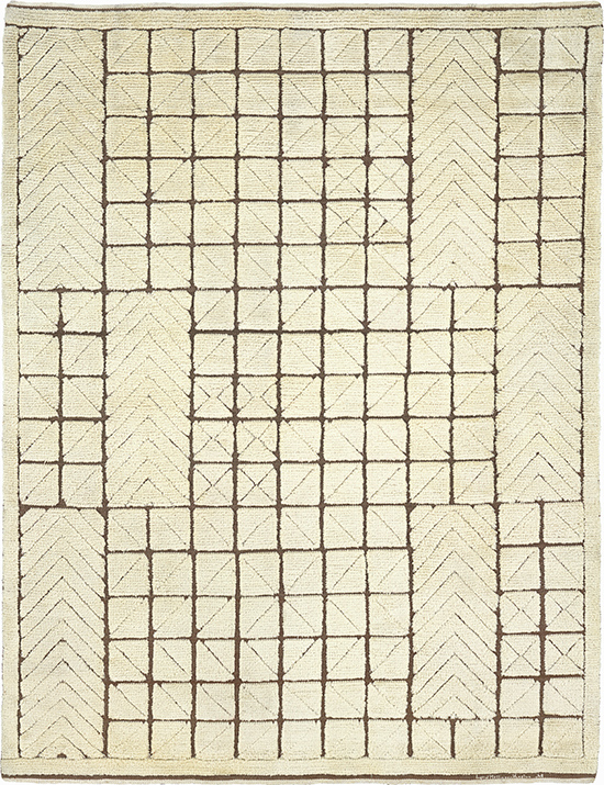 03285 Swedish Pile and Flat Weave Rug | FJ Hakimian
