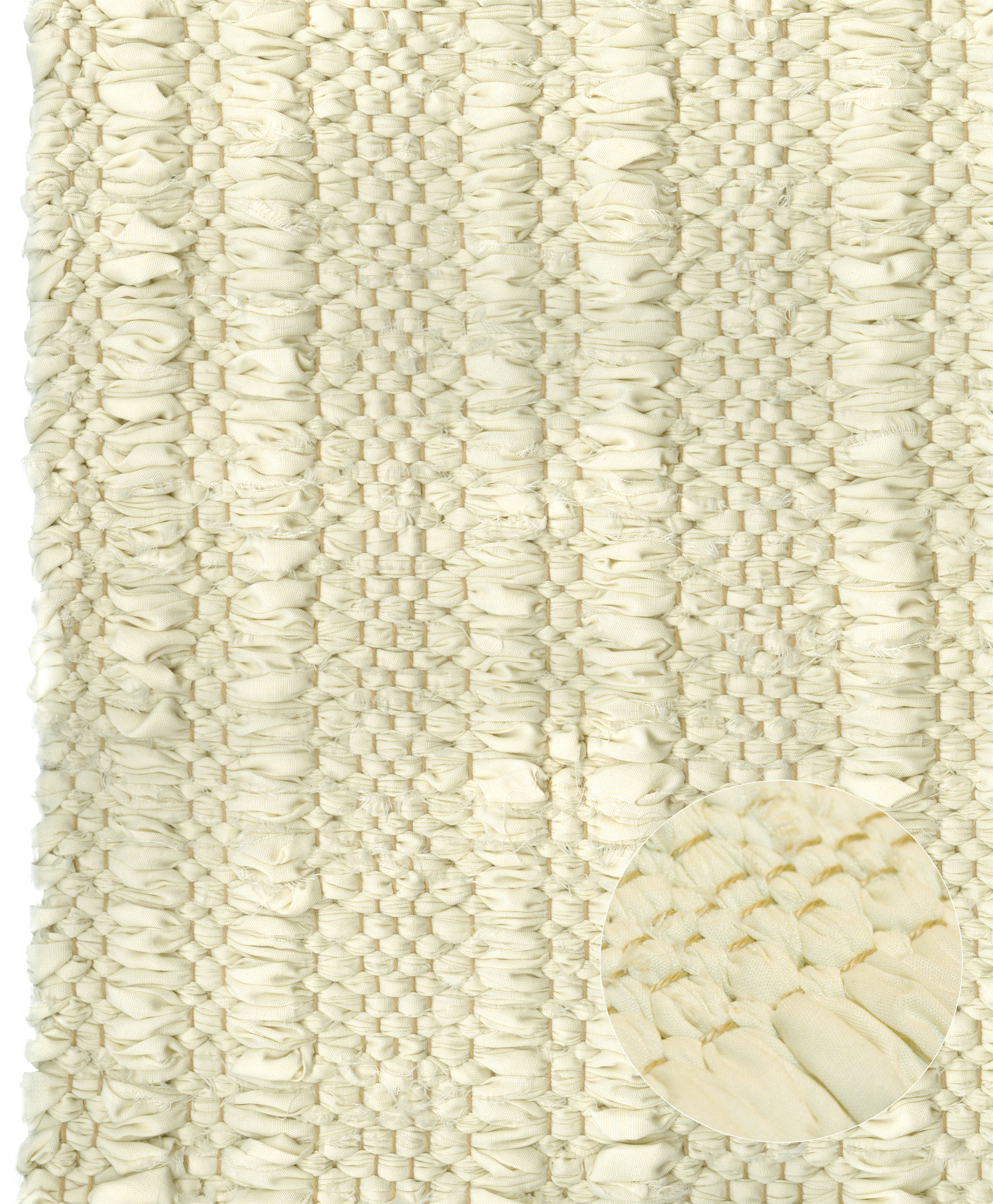 CS-Cream Rib Cotton