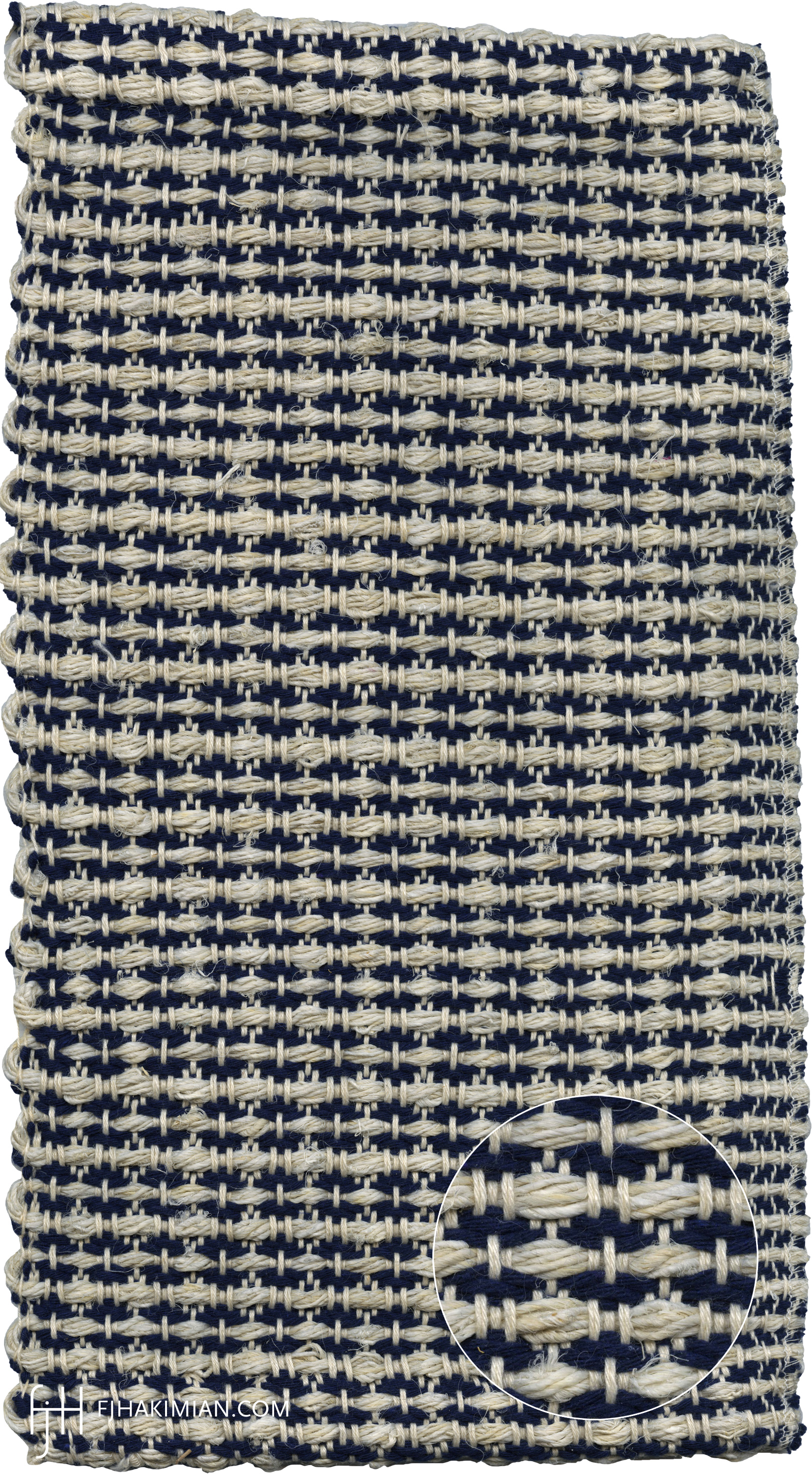IF-Sardinian-Cotton-Bleached Hemp-Mat Sample1-FJ Hakimian