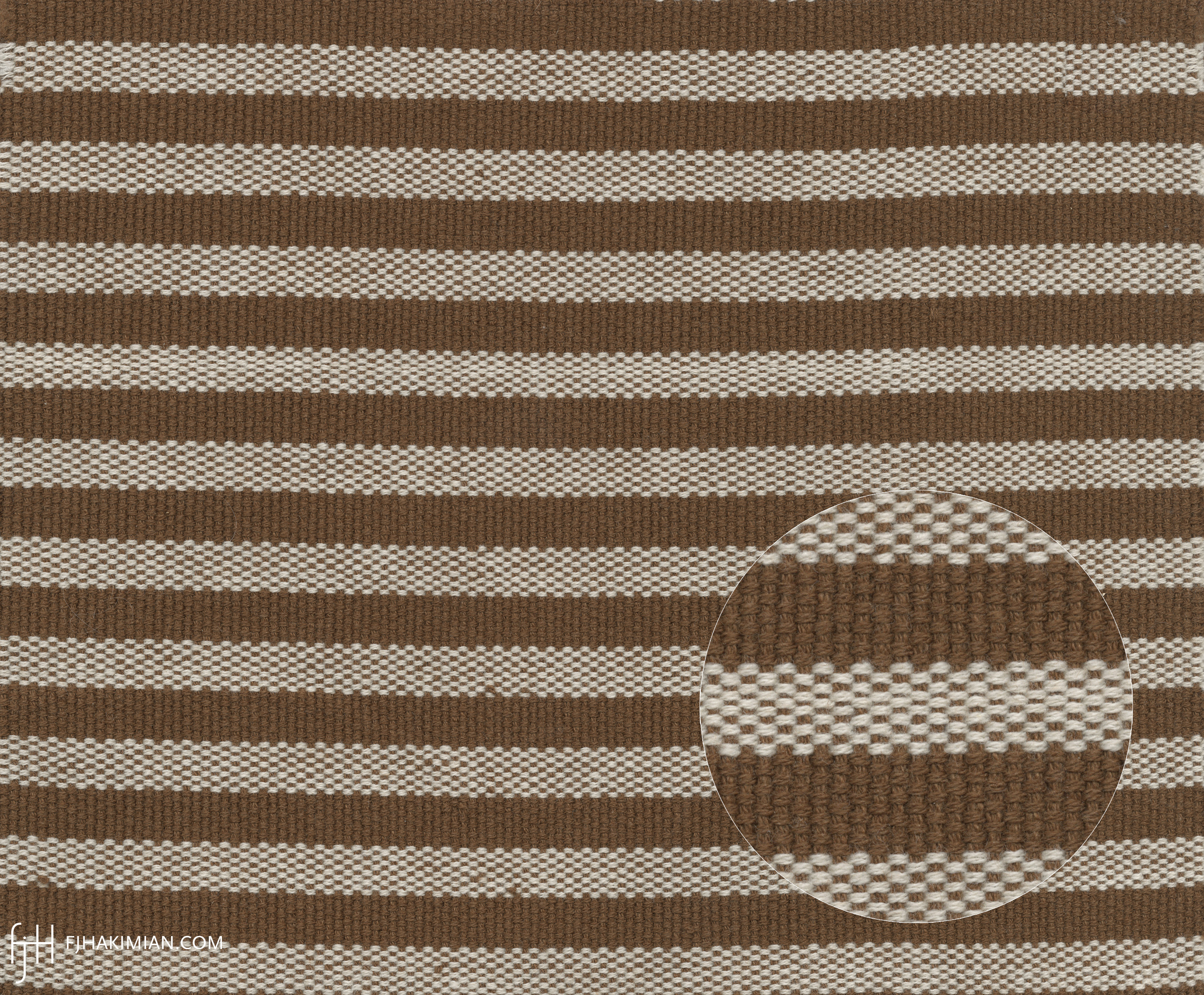 Upholstery Fabric WY-03R-Bone-Brown | FJ Hakimian
