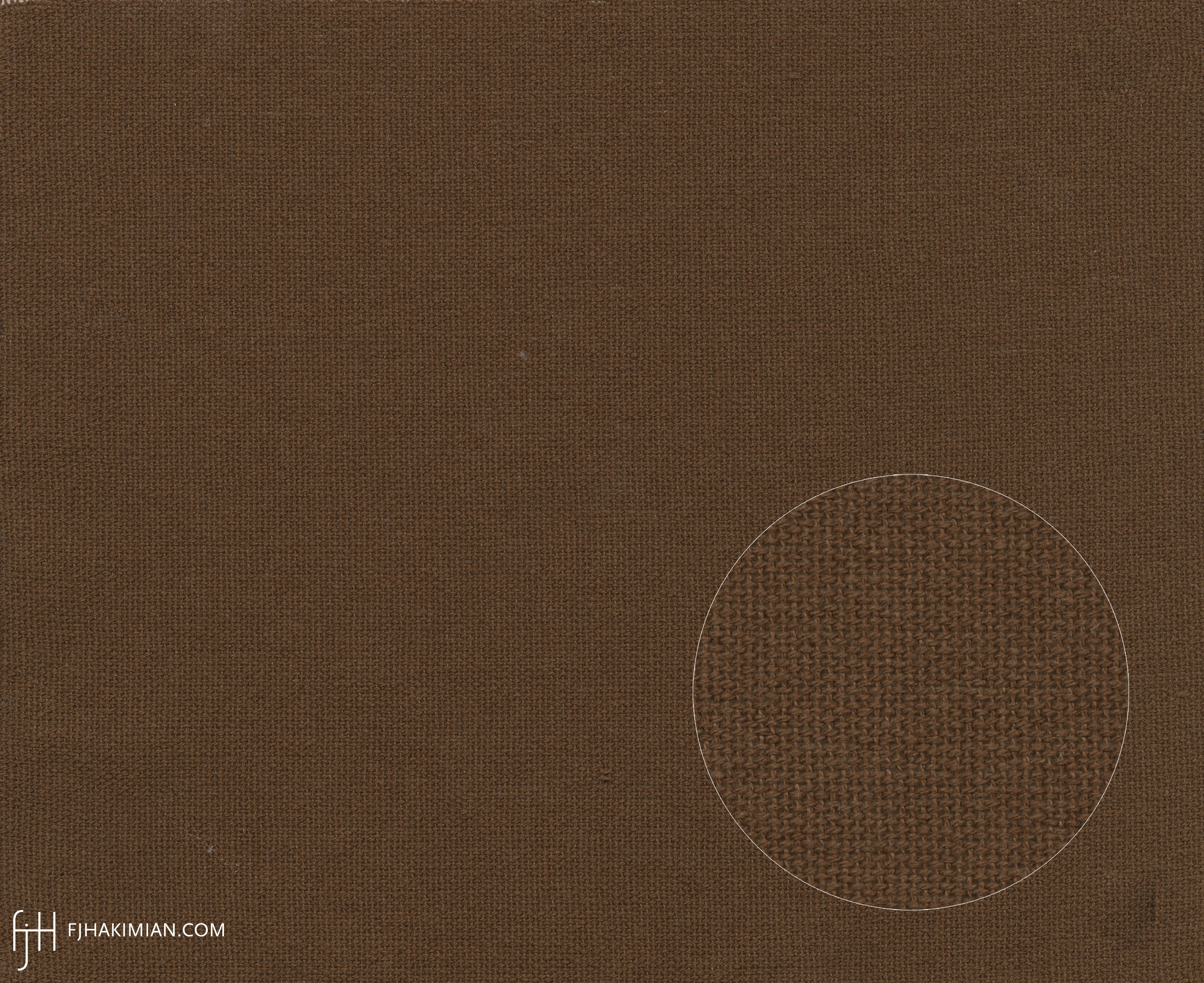 Upholstery Fabric WY-12-Brown | FJ Hakimian